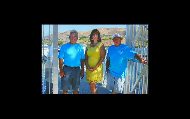 Owner & managers of Sunset Marina