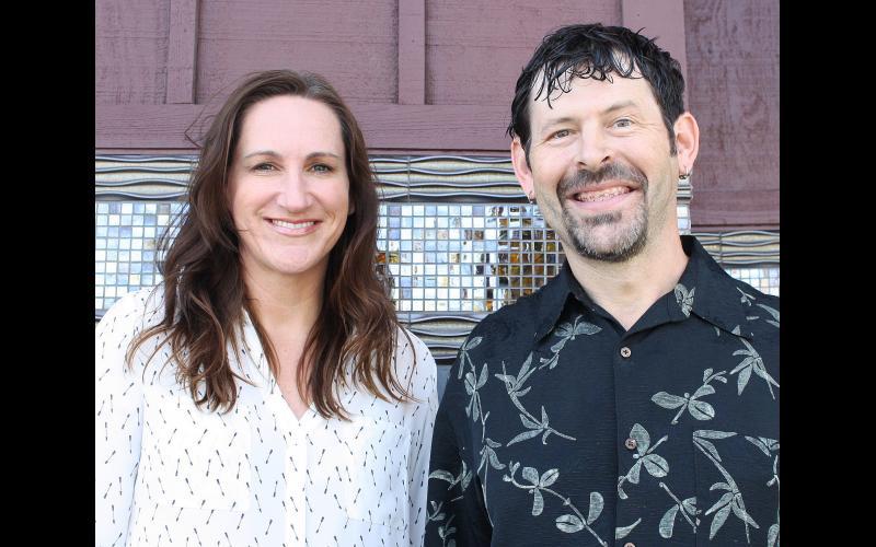 Angela and Tony