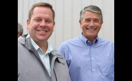 State Representatives Mike Steele, left, and Keith Goehner